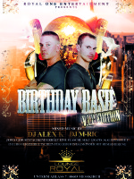 V.I.P. BIRTHDAY BASH @ LOUNGE ROYAL Meßkirch // FRIDAY SPECIAL EVENT 21.03.14